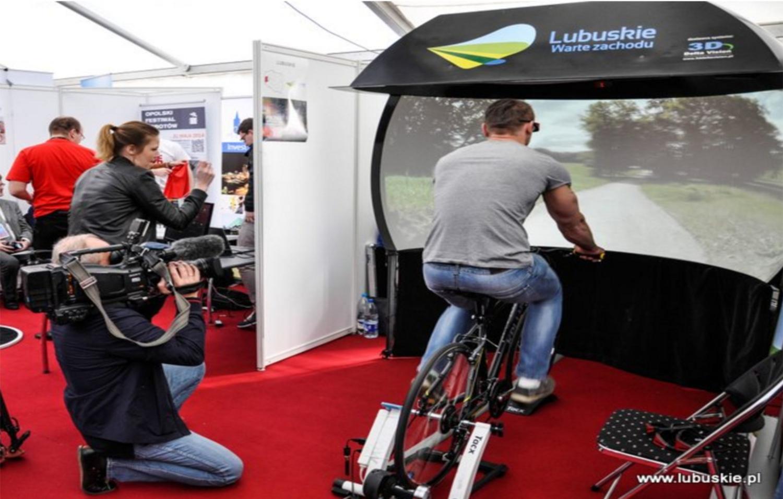symulator rowerowy