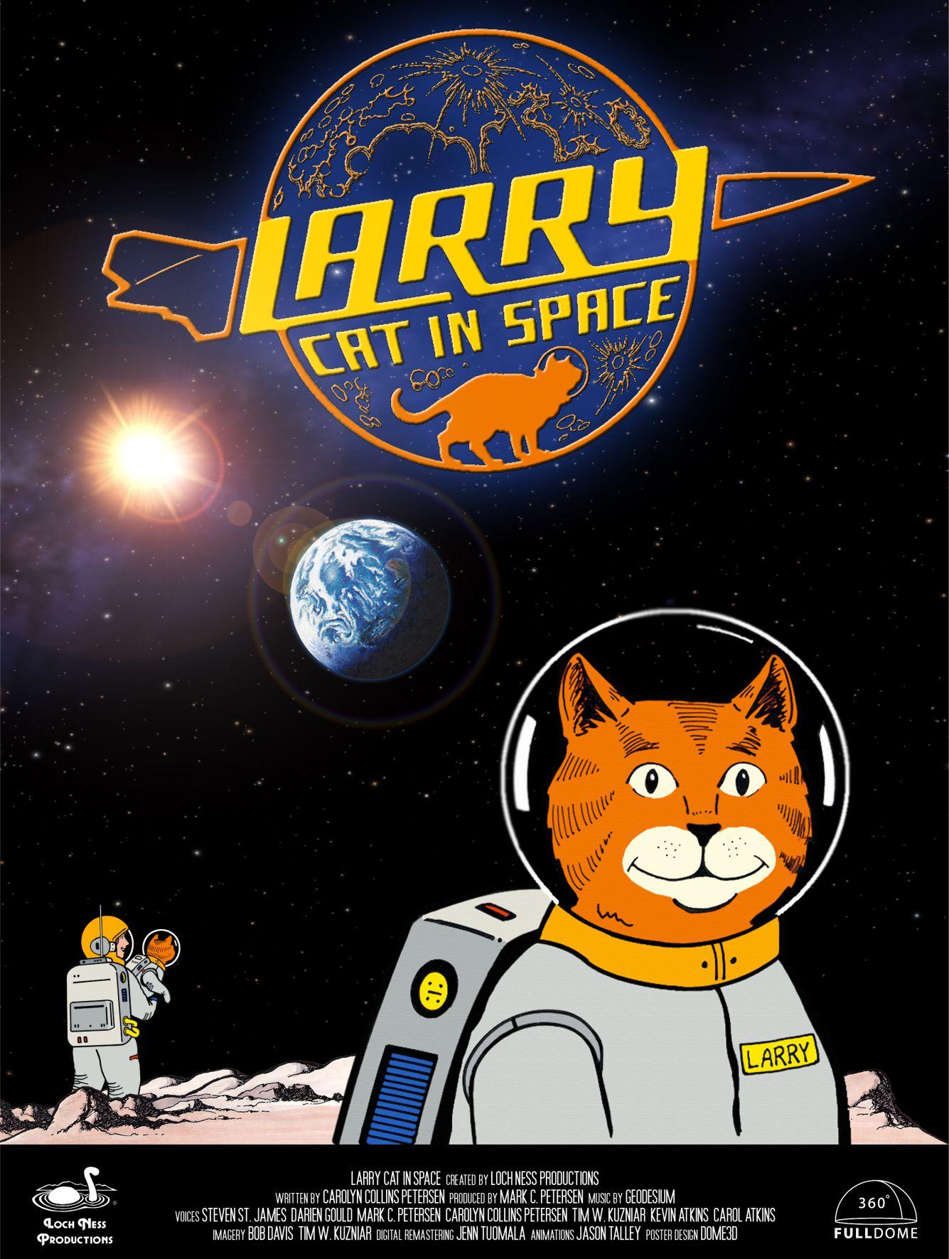 Larry Cat In Space  –  EN / 2D