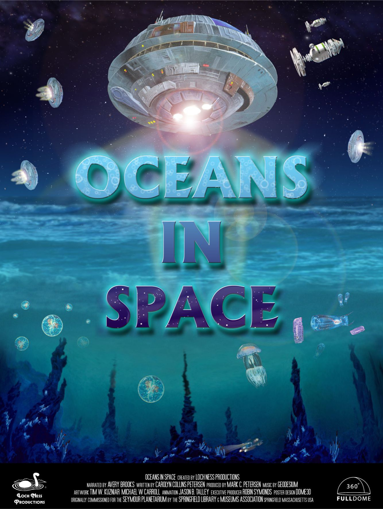 Oceans In Space –  EN / 2D