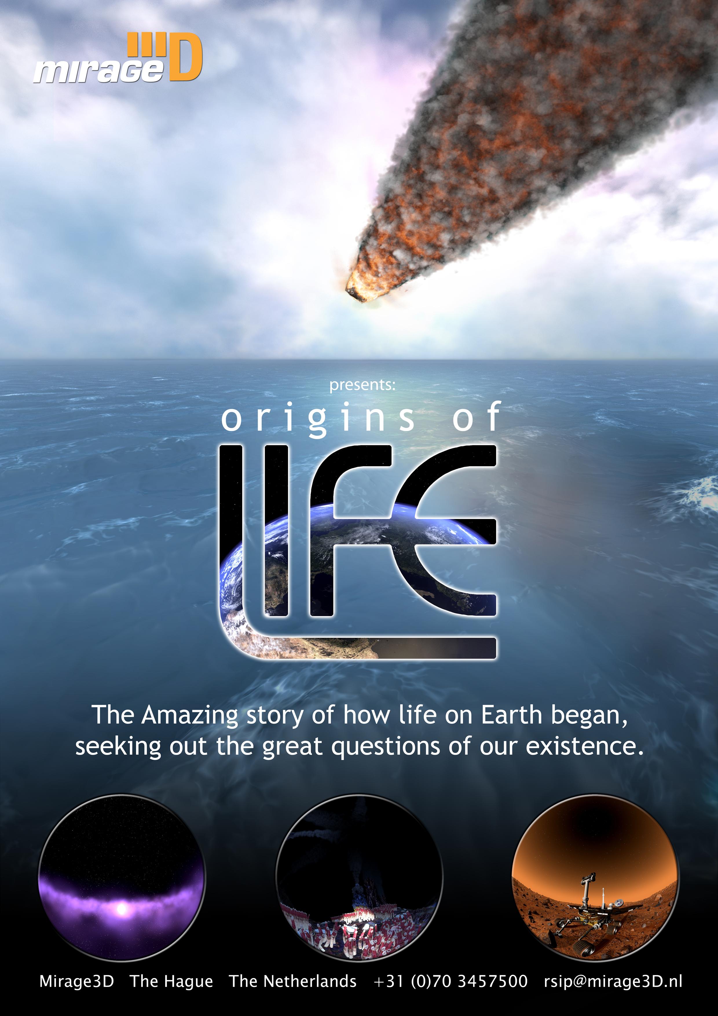 Pochodzenie Życia/ Origins of Life - PL/ 2D