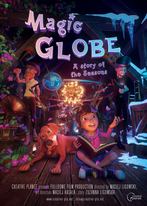 Zaczarowany Globus / Magic Globe - PL / 2D , 3D